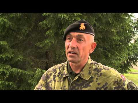 """Pratybos """"Kardo kirtis 2014"""" Lietuvoje: interviu su Danijos divizijos vadu"""