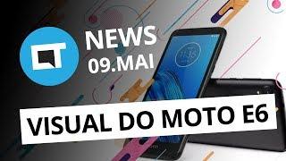 Câmera de 64MP da Samsung; Design do Motorola One Vision e Moto E6 e + [CT News]
