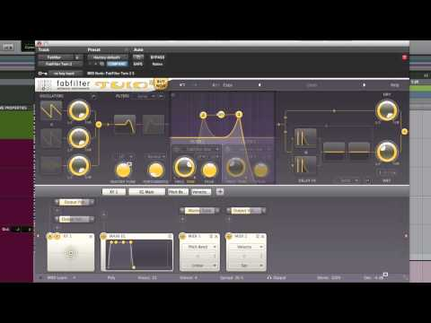 Fabfilter Twin 2 Synth AAX Version Review - Extended Video