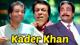 Lo mejor de las escenas de comedia Kader Khan | Superhit Movie Dulhe Raja - Chhote Sarkar - Mujhse Shaadi Karogi