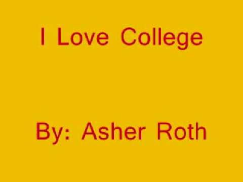 I Love College by Asher Roth (Squeaky Clean Version)