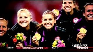 USWNT - Alex Morgan Olympics & Passing the Torch - ESPN's SportsCenter's Guiness Suite - 2013