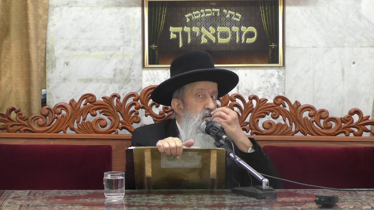הרב בן ציון מוצפי פרשת חוקת התשעח