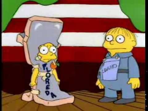Lisa disfraz florida problema con el juego 5x10 youtube - Simpson ralph ...