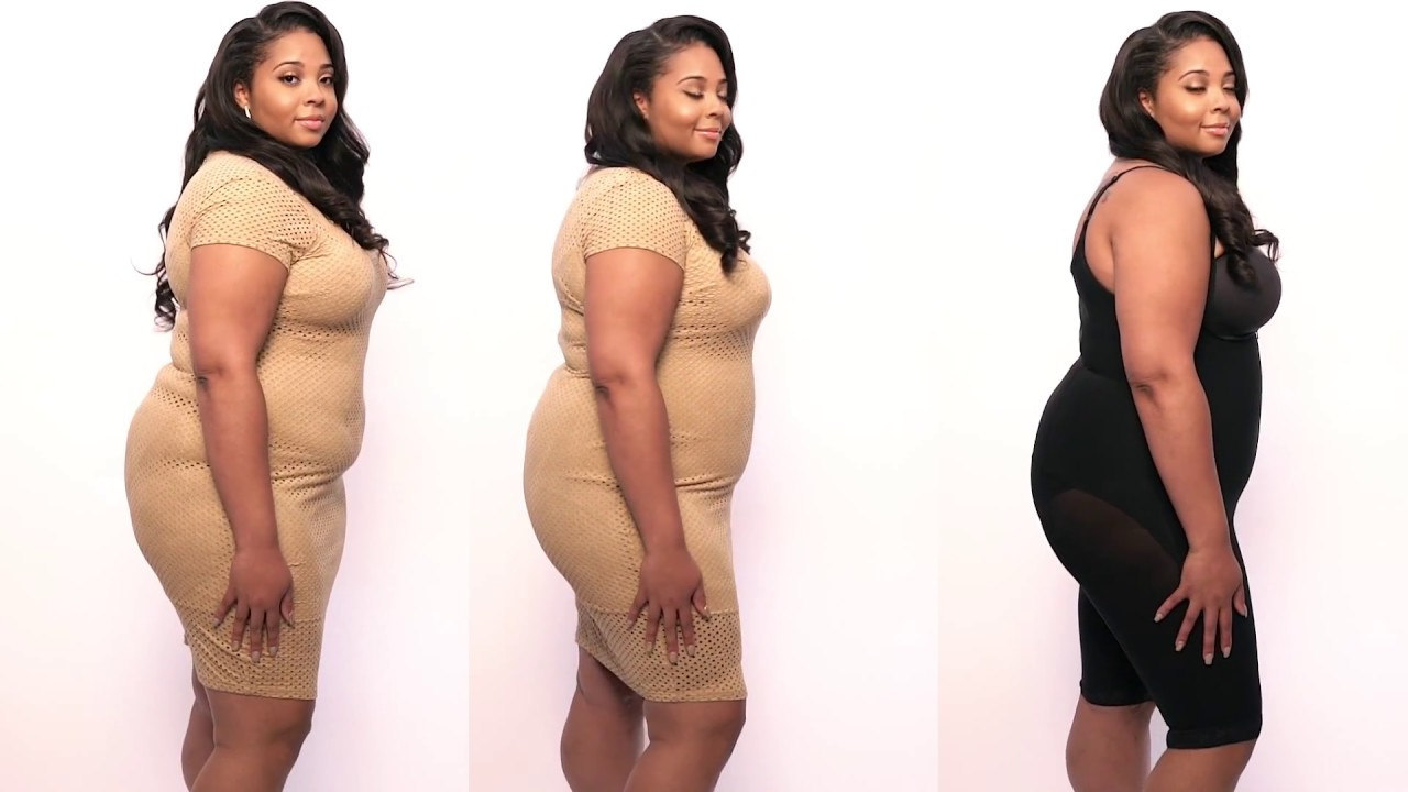 cac2ec4a15a Body Shaper Before Vs. After - YouTube