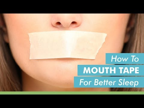 How To Mouth Tape For Better Sleep