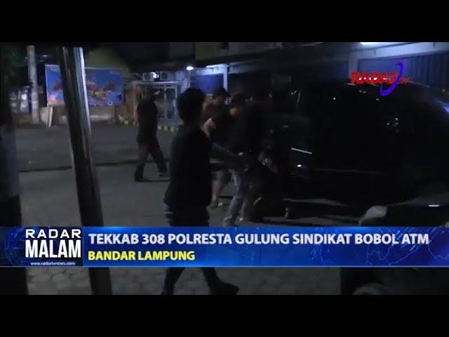 Tekkab 308 Polresta Bandar Lampung Gulung Sindikat Bobol Atm