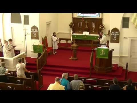 Mt Tabor Lutheran Church - June 26, 2016