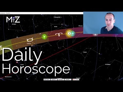 Weekend Horoscope April 20th 21st & 22nd, 2018 - True Sidereal Astrology