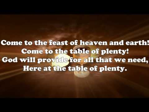 Catholic hymns table of plenty lyrics by daniel schutte stopboris Gallery