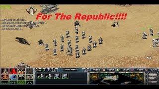 star wars galactic battlegrounds skirmish gameplay republic # 2017