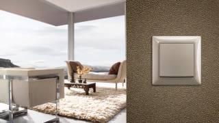 видео ABB Cosmo - серия рамок по низкой цене | Cosmo (Космо) недорогие розетки и выключатели в интернет-магазине абб-электрика