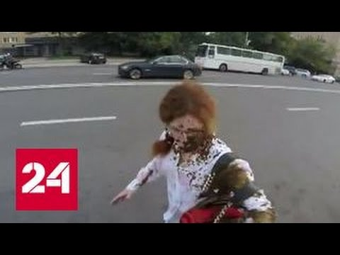 Видео нападения: до