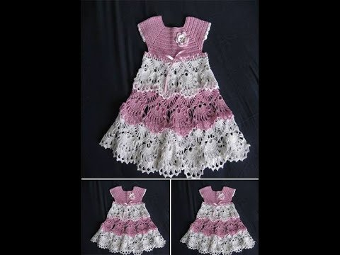 #Crochet Patterns| #Free |crochet baby dress| 2548