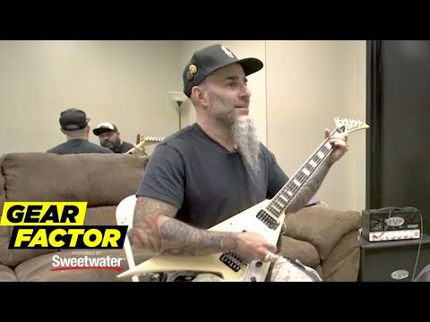 Anthrax's Scott Ian Plays His Favorite Riffs