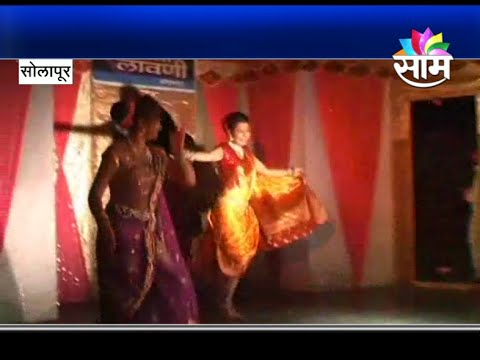 """Lavani Performers in Solapur dance to the tune of """"Zingaat"""""""