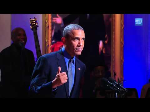 Obama introduces Keb Mo at White House Music Celebration