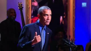 Obama introduces Keb Mo at White House Music Celebration
