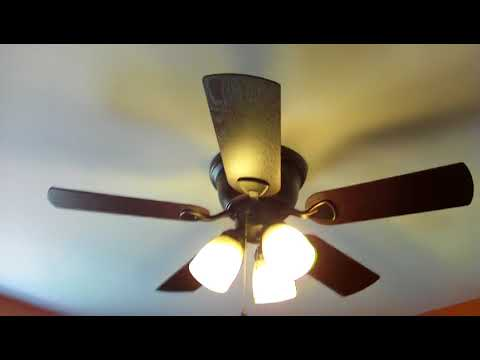 Harbor breeze centreville 42 inch bronze ceiling fan youtube harbor breeze centreville 42 inch bronze ceiling fan aloadofball Choice Image