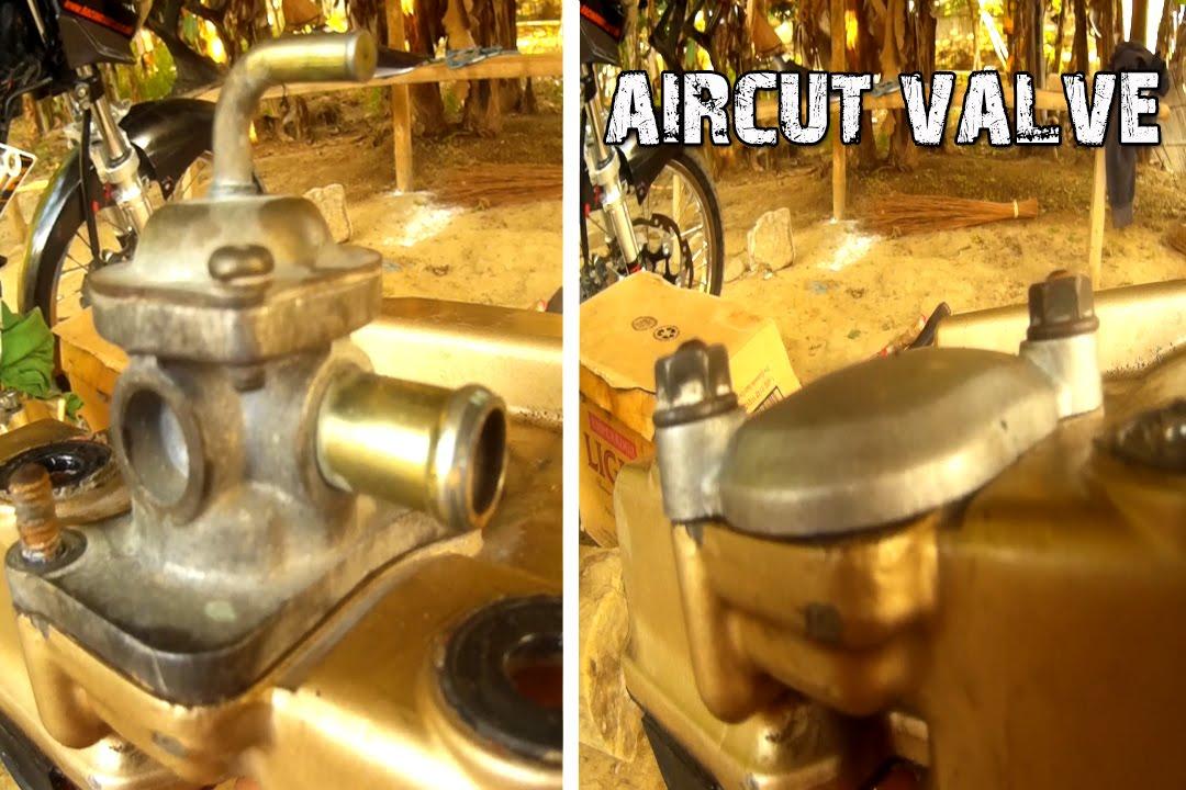 RAIDER 150 MOD air cut valve