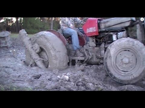 Tractor Stuck, How to get it Unstuck. Brilliant!