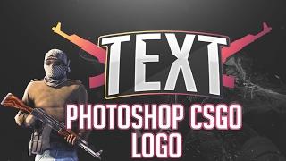 Photoshop CSGO Logo Tutorial/Yapımı