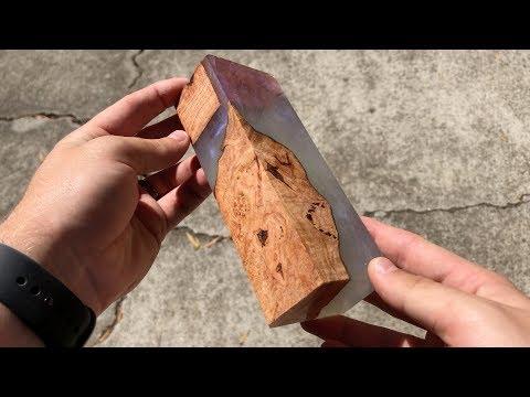 Oak Burl & Alumilite Resin