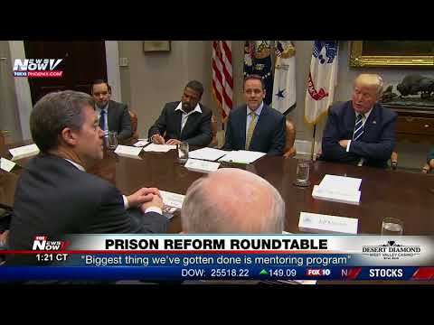 WATCH: President Trump Participates In A Prison Reform Roundtable (FNN)