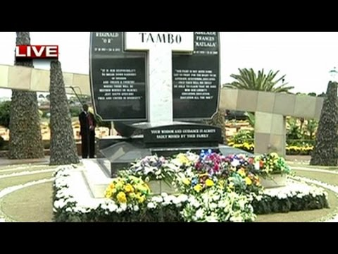 Honouring Oliver and Adelaide Tambo