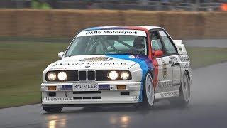 BMW M3 E30 Group A DTM Crash @ FOS Goodwood 2019