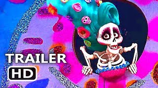 "COCO ""Music Is Life"" Official Clip + Trailer (2017) Disney Pixar Animation Movie HD"