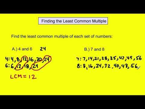 multiple de 4 et 7