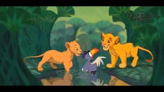 [HD] Le Roi Lion - Je voudrais déjà être Roi + Paroles