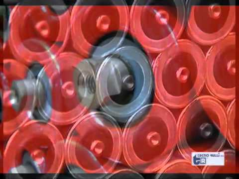 Tecnorulli Produktion von Tragrollen und Trommeln für Stückgut und Schüttgut