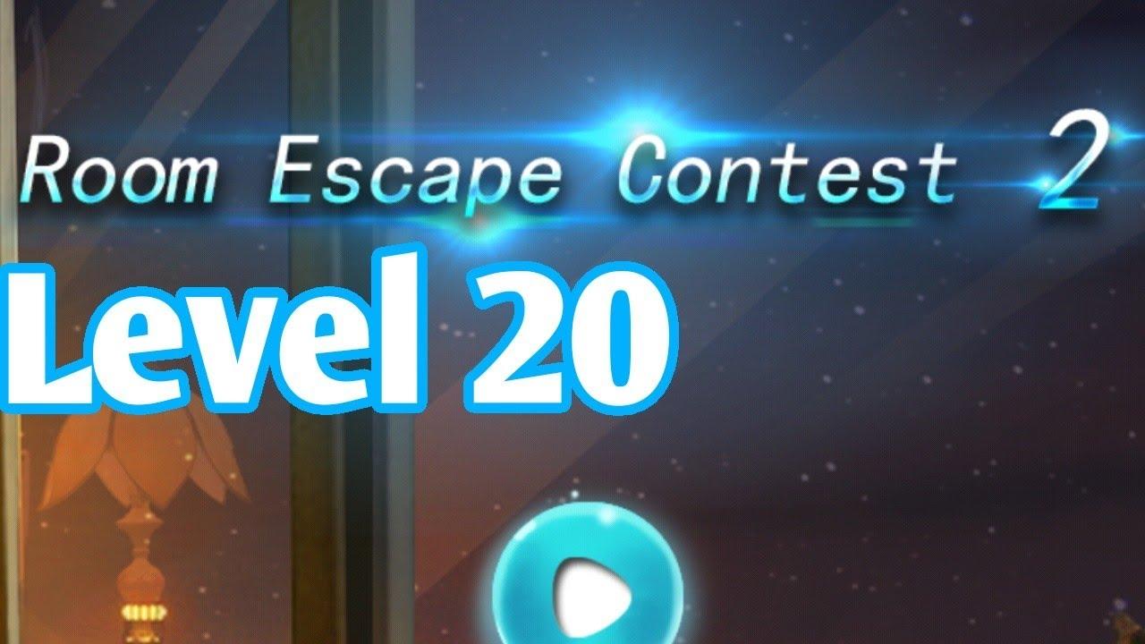 Room Escape Contest 2 Level 20 Walkthrough - YouTube