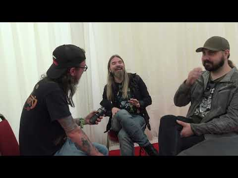 GBHBL Whiplash: Bloodstock 2019 Interview - Sabaton