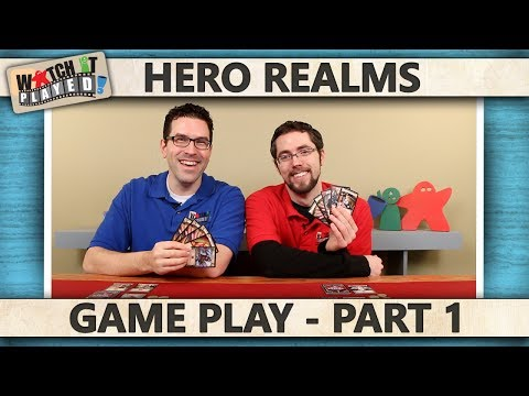 Hero Realms - Game Play 1