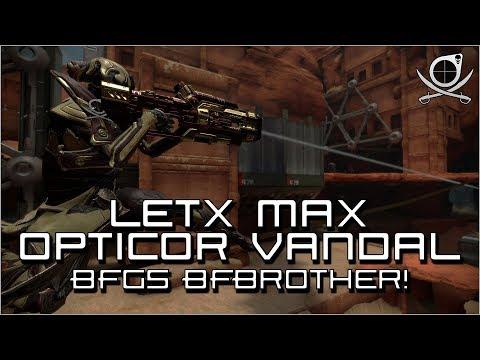 (Warframe)  Lets Max Opticor Vandal - BFGs BFBrother!