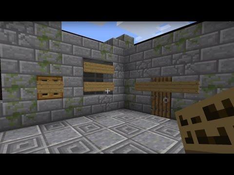 Баррикады в Minecraft! Защити свой дом на 100% [Квадратная красота]