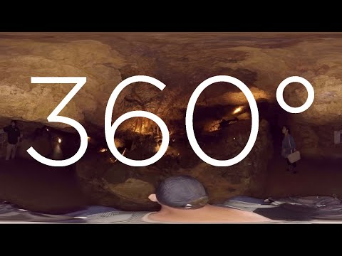 360° VIDEO - Naracoorte Caves - Victoria Fossil Cave Tour
