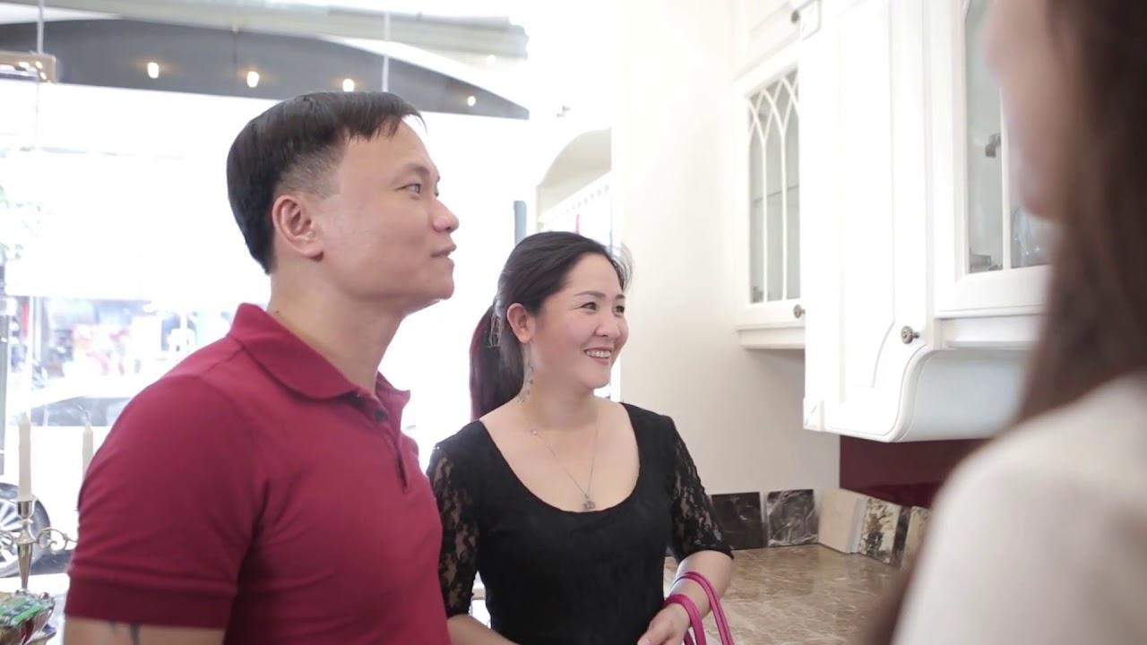 Nhà bếp hoàng gia, xu hướng thiết kế tủ bếp năm 2019 - YouTube