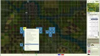 Flashpoint Germany PBEM 2 gameplay turn 1