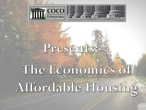 The Economics of Affordable Housing