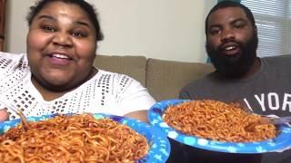 Extreme Spicy Korean noodle challenge