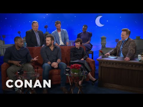 "The Men Of 'Avengers: Infinity War"" Compare Themselves To Different Meats  - CONAN on TBS"