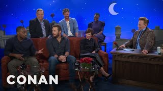 "The Men Of ""Avengers: Infinity War"" Compare Themselves To Different Meats  - CONAN on TBS"