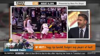 NEW ►►ESPN First Take LeBron James Says Michael Jordan Gets Too Much Credit August 18, 20