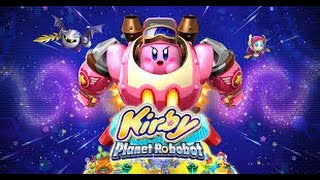 Kirby Planet Robobot lets play