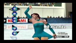 ESPN International Winter Sports (Gamecube) - Figure Skating - 5585 Points