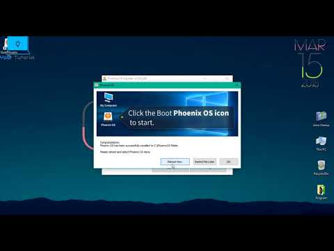 How To Install Android Nougat 7 1 On PC Windows 7.8.10 || 2018